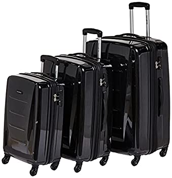 Samsonite Winfield 2 Hardside Luggage with Spinner Wheels Brushed Anthracite Checked-Large 28-Inch