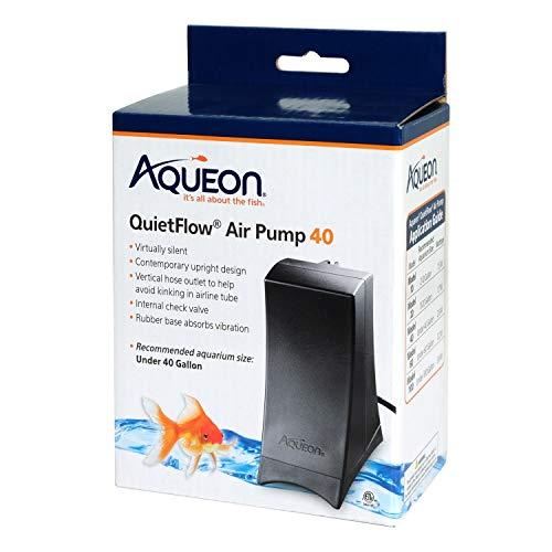 Aqueon QuietFlow Air Pump Black 40