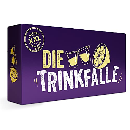 ZENAGAME Die Trinkfalle, Trinkspiel Trinkspiele für Erwachsene - 300 Verschiedene (und Immer lustige) Karten - Kartenspiele für Erwachsene, Drinking Game und Partyspiele für Erwachsene
