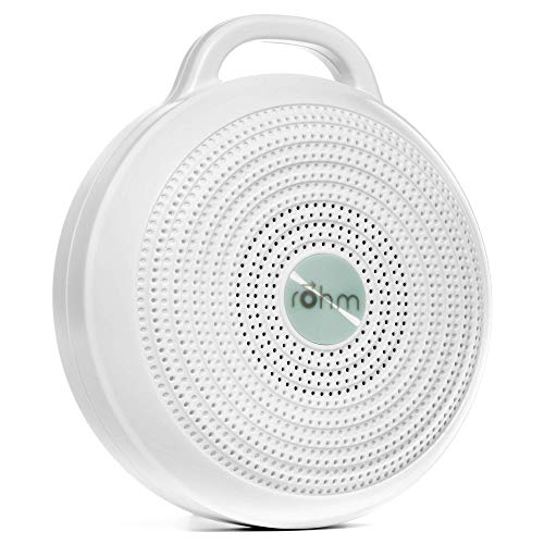 Yogasleep Rohm Portable White Noise Machine for Travel | 3 Soothing,...