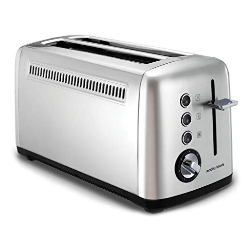 Morphy richards - m245002ee - Grille-pains 2 fentes longues 850w inox accents
