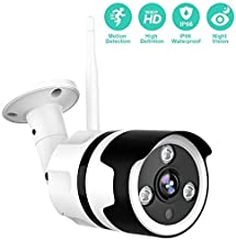 Outdoor Camera – 1080P Security Camera Outdoor, IP66 Waterproof, 2-Way Audio Home..
