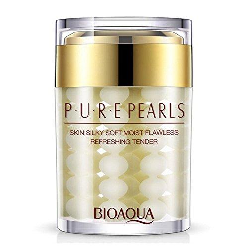BIOAQUA Pure Pearl Face Cream Essence Hyaluronic Acid Cream Moisturizing...