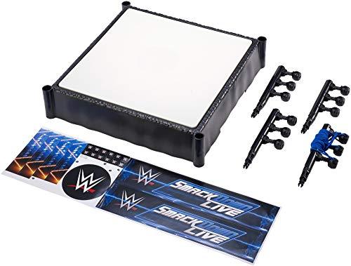 Mattel FMH14 WWE Smackdown Ring 35 cm Spielset, Spielzeug ab 6 Jahren