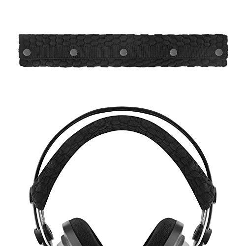 Geekria Head Fascia Cover per Cuffie Logitech, Turtle Beach, Panasonic, V-MODA, Denon, AKG, Sony, Audio-Technica, Replacement Sweater Knitting Headband Cover