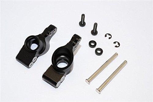 GPM HPI Bullet 3.0 Nitro & Bullet Flux Tuning Teile Aluminium Rear Knuckle Arm - 1Pr Set Black