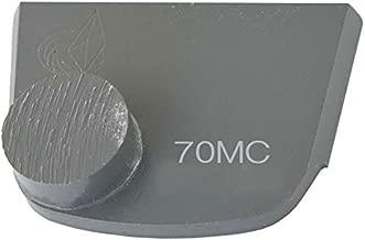 Lavina X1B-MC-0070 Diamond Medium Metal Bond for Medium Concrete 70 Grit Single Button Segment