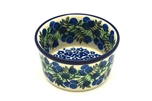 Polish Pottery Ramekin - Huckleberry