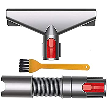 AINUO Cepillo Kit de Accesorios con Strecth Manguera para Dyson V8 V7 V6 V10 SV10 SV11 Aspirador- Cepillos de Recambios para Dyson v6 DC34 DC35 DC59 DC62 etc Aspiradora Repuestos Set (6
