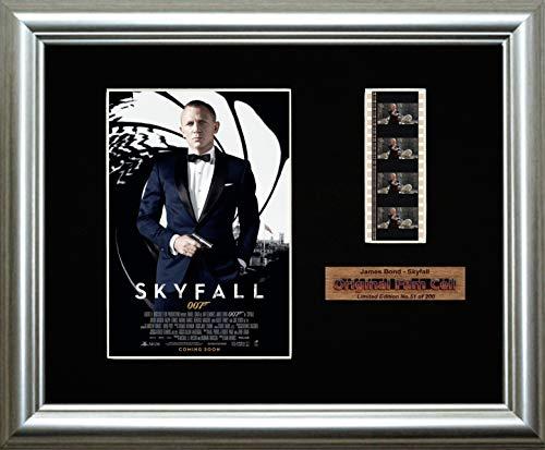 James Bond – Skyfall – gerahmter Filmstreifen