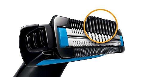 Philips Body Groom BG1024 Battery Operated Body Groomer (Black)