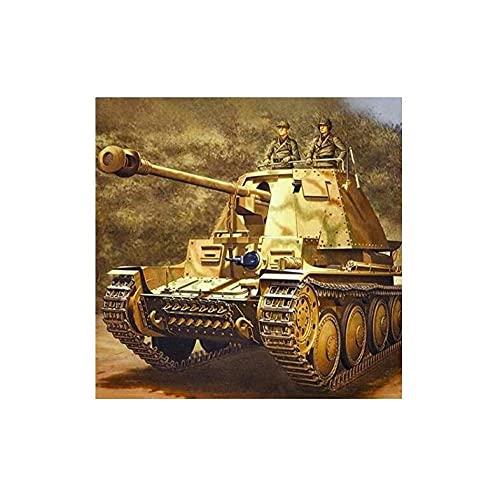 tank teens SKMN Paint by Numbers for Teens DIY Tank Military Tank Retro Digital Painting Retro Restaurant Hotel Elegant Romantic Decoration
