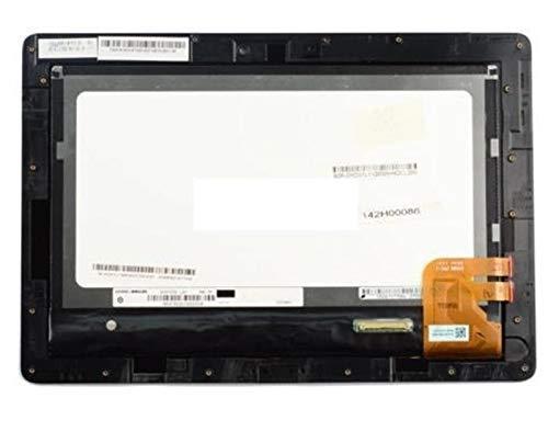 Kit de reemplazo de pantalla 10.1 pulgadas AJUSTE PARA LA PADR DE TRANSFORMADOR ASUS TF300 TF300T 5158N Pantalla LCD con el conjunto del digitalizador de la pantalla del panel táctil con el marco kit