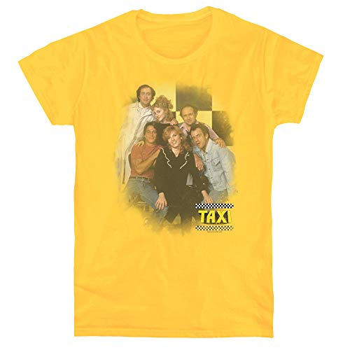 Taxi Sunshine Cab Women's T Shirt, Medium Yellow