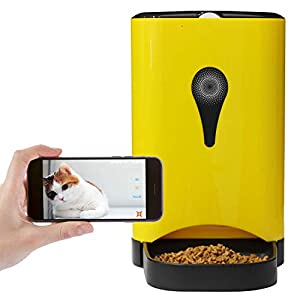 Dr. Feeder 4.5L Smart HD Camera Feeder for Video and Audio Communication, Automatic Pet Feeder for Cats and Dogs, APP Controlled Food Dispenser Through Wi-Fi