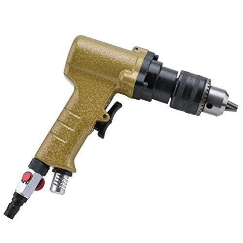 IREANJ Neumático portátil práctico neumático neumático 13mm manual taladro neumático, neumática que golpea la máquina herramienta de mano herramientas portátiles industriales