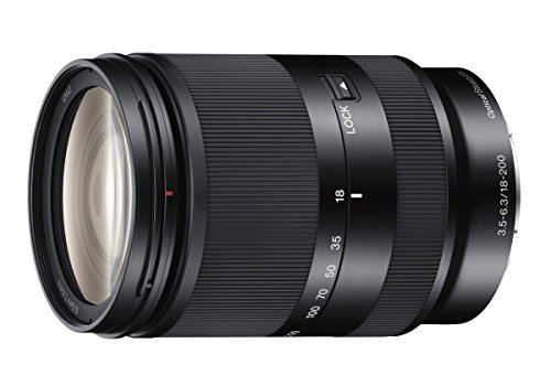 Sony 18-200mm F3.5-6.3 E-Mount Lens SEL18200LE