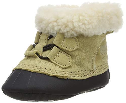 Sorel Caribootie II, Zapatillas de Estar por casa Unisex niños, Beige (Curry, Black 373), 0 6 Meses EU