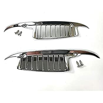 Octane Lighting Door Handle Nail Guards Knuckle Shields Trim Accessory Pair Fits 60 61 62 63 64 Chevrolet Chevy Impala Bel Air Biscayne