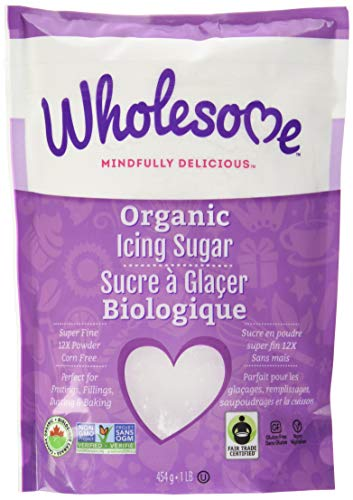 Wholesome Sweeteners, Organic Powdered Sugar, 1 lb
