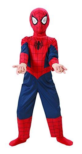 Rubie's I-886919 Disfraz Spiderman de niño a partir de 3 años L, Azul/ Rojo