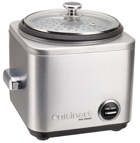 Cuisinart CRC-800 8-Cup Rice Cooker, Silver