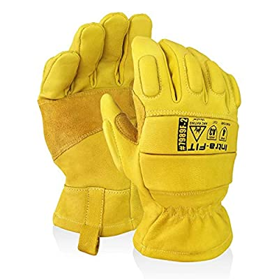 Intra-FIT Professional Arc Flash Gloves Safety Work Gloves Cut& Puncture Resistance Idea For Cut-resistance Work Gloves, General Work, Heavy Duty Work
