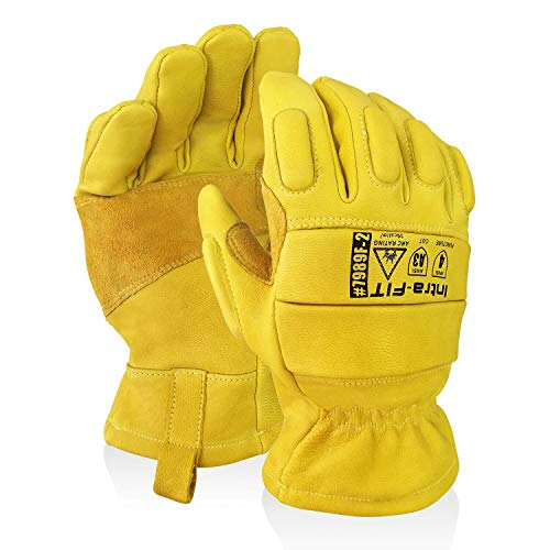 goatskin gloves insulated - 7