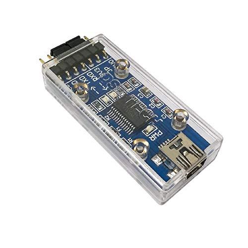 DSD TECH SH-U09F USB-zu-TTL-Adapter unterstützt 3V3- und 5V0-TTL mit echtem FTDI FT232RL-IC
