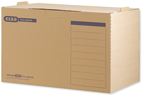 5 Archivboxen ELBA tric system System-Container / 51,0 x 36,0 x 33,0 cm thumbnail