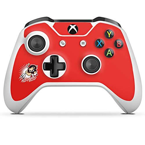 DeinDesign Skin kompatibel mit Microsoft Xbox One S Aufkleber Folie Sticker Sternzeichen Wassermann Astrologie