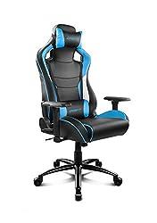Drift DR400BL - Silla Gaming Profesional, (Polipiel Alta Calidad, Ergonómica), Color Negro/Azul