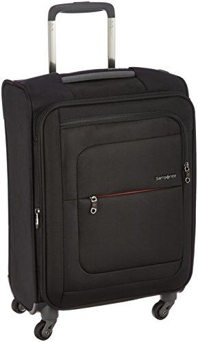 [サムソナイト] スーツケース キャリーケース ポピュライト スピナー55 エキスパンダブル 保証付 40L 55 cm 2kg ブラック