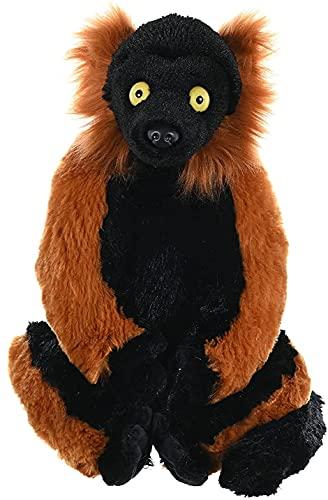 Red Ruffed Lemur Plush