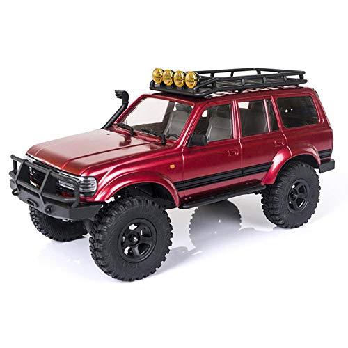 deguojilvxingshe ROCHOBBY Katana RC Coche 1:18 2.4G impermeable teledirigido modelo Offroad, minivehículo todoterreno todoterreno, regalo de juguete para niños y adultos