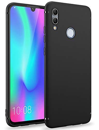 BENNALD Hülle für Honor 10 Lite Hülle, Soft Silikon Schutzhülle Hülle Cover - Premium TPU Tasche Handyhülle für Huawei Honor 10 Lite (Schwarz,Black)