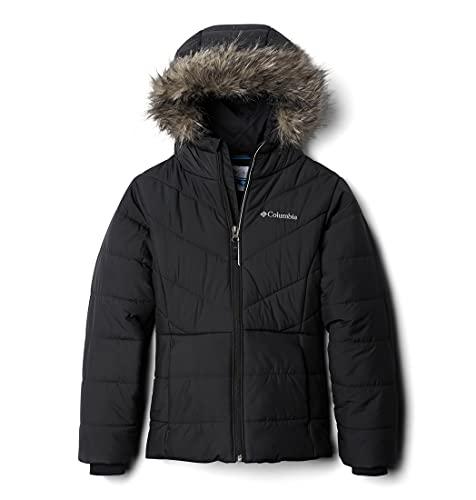 Columbia Girls' Big Katelyn Crest Jacket, Black, Small