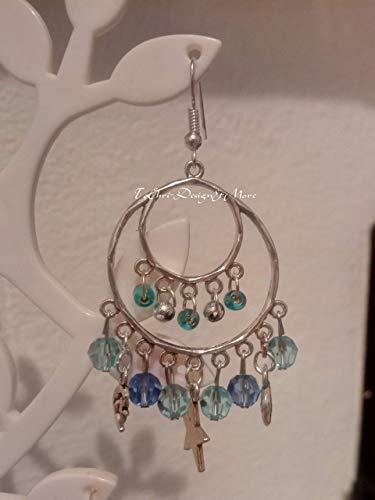 Schmuckset Swarovski und Perlen Ohrringe Kette und Ring