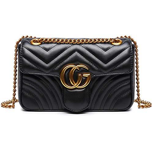 bolso de mano peque/ño dorado Light Gold1 Talla:21 14.5 8cm Bolso de mano de verano 2018 con borla y cadena