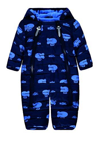 bellybutton Newborn Boys Schneeanzug/Schneeoverall Black iris (blau) (56)