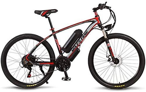 Bicicletas Eléctricas, Bicicleta eléctrica, 26 pulgadas de 36V 350W 10.4AH 21 Velocidad aleación de aluminio eléctrica bicicleta de montaña bicicleta Ebike sin escobillas del motor batte de litio, cam