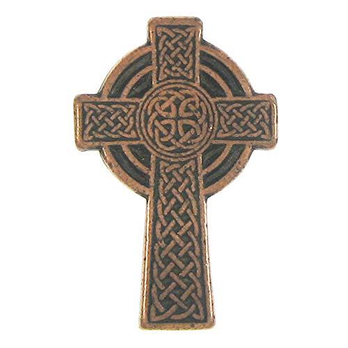 Jim Clift Design Celtic Cross Copper Lapel Pin - 1 Count