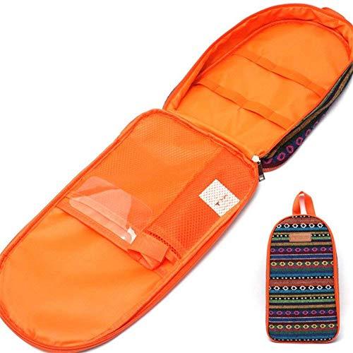 LATOOキャンプ 収納ボックススパイスボックス調理器具キャンプ用品 調理器具 収納 ツールバッグ (orange)