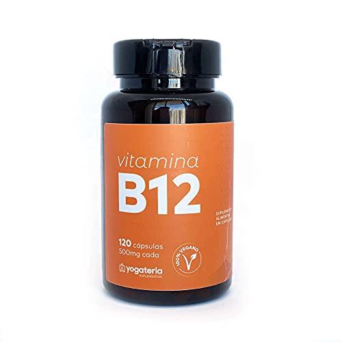 YOGATERIA Suplemento Vitamina B12 Metilcobalamina Vegano 414%vd 120cps