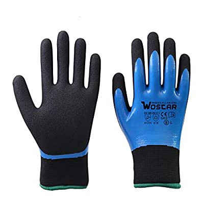 Winter Work Gloves, Freezer Winter Working, Smart Touch, Acryl Fiber Lined with Tight Grip Palms-Cold Temperatures Cold Storage Gloves