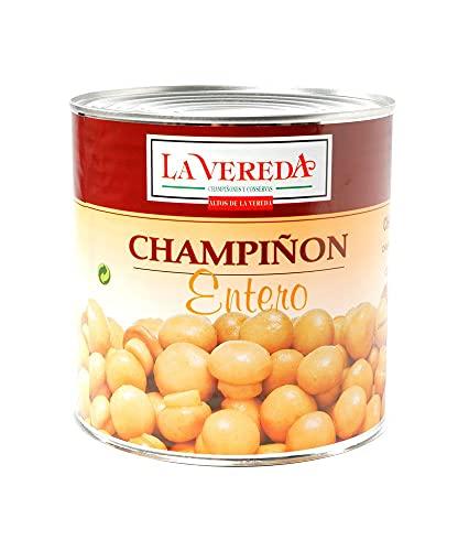 CHAMPIÑON ENTERO LA VEREDA LATA 3 KG (1 LATA)