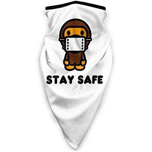 Ba-pe Face Mask Headscarf Windproof Neck Brace Warm Scarf Dust and UV Protection Multifunctional Balaclavas Headwear
