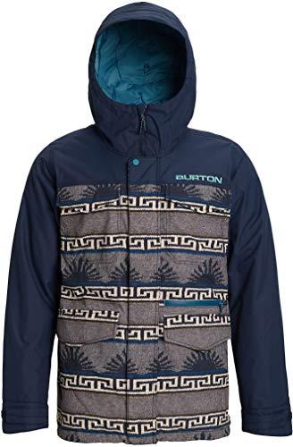 Burton Herren Ski/Snowboardjacke Covert Jacket, Herren, Snowboard-Jacken, Men's Covert Jacket, Spurwink/Kleid blau, Small