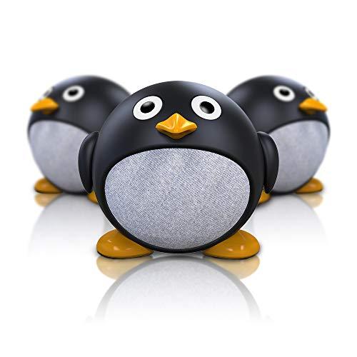 Altoparlanti Bluetooth Senza Fili, Richgv Portatile Mini Wireless Bluetooth 5.0 Speaker con Bassi Potenti e Suono Hi-Fi, Altoparlante TWS, Microfono Incorporato per Casa/EsterniViaggi/Feste (Penguin)