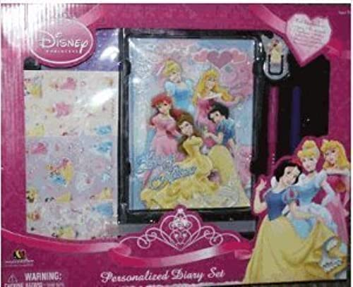 envio rapido a ti Disney Princess Personalized Diary or Journal Journal Journal Set by Disney  mejor reputación